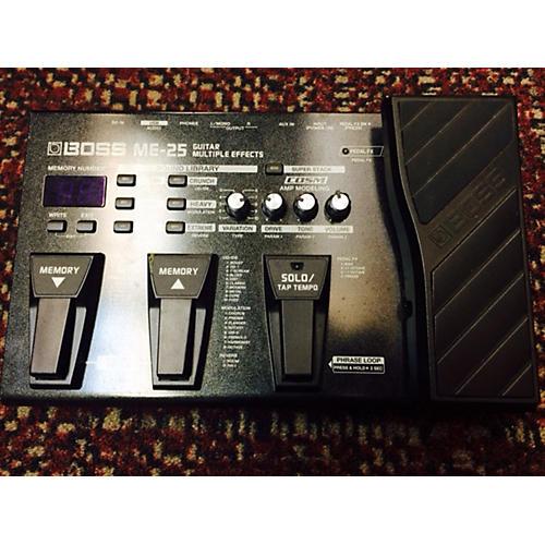 Boss ME25 Guitar Multi Effect Processor