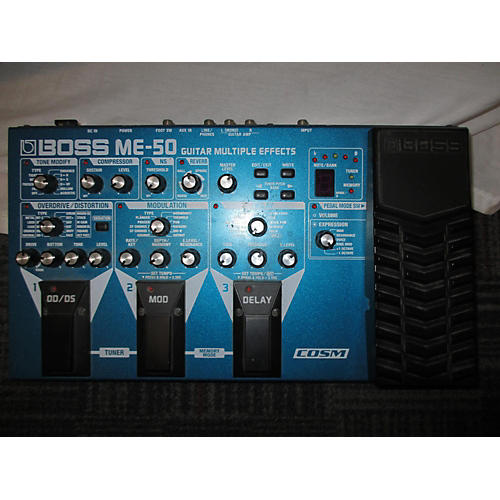 Boss ME50 Guitar Multi Effect Processor