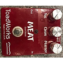 Toadworks MEAT DUAL BOOST Effect Pedal
