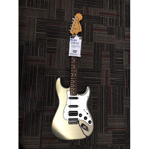 used mexican lone star stratocaster solid body electric guitar ghost silver guitar center. Black Bedroom Furniture Sets. Home Design Ideas
