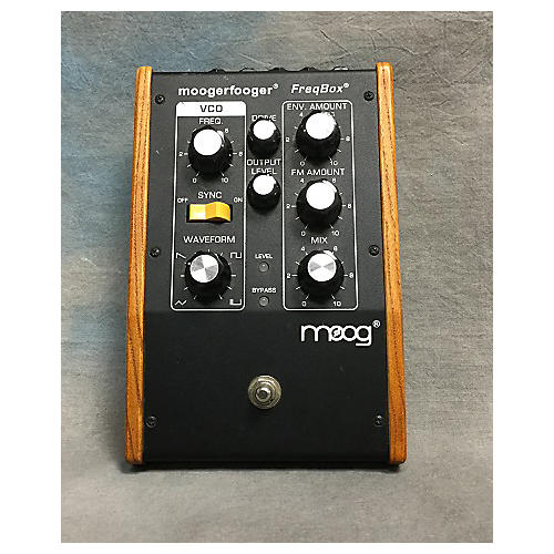 Moog MF107 Moogerfooger Frequency Box Synth Effect Pedal