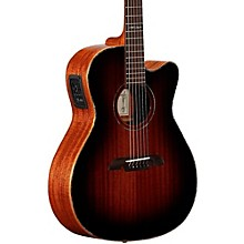 MFA66CE Masterworks OM/Folk Acoustic-Electric Guitar Level 2 Shadow Burst 190839342102