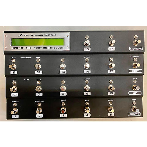 Fractal Audio MFC-101 Footswitch
