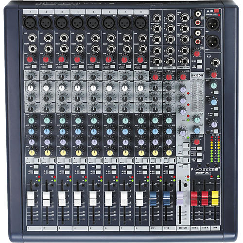 Soundcraft MFXi 8 Mixer