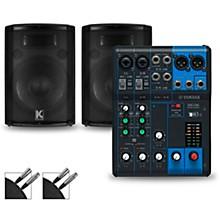 MG06 Mixer and Kustom HiPAC Speakers 12