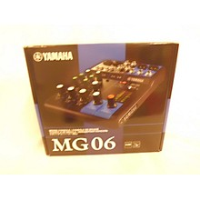 Yamaha MG06 Unpowered Mixer