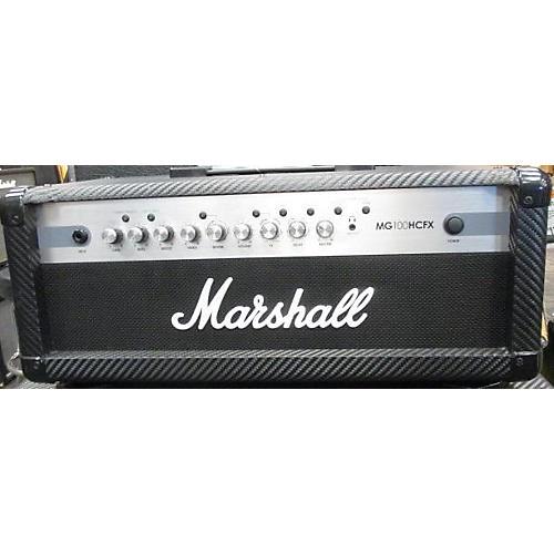 Marshall Avt50h Guitar Amp Head : used marshall mg100hcfx 100w solid state guitar amp head guitar center ~ Vivirlamusica.com Haus und Dekorationen
