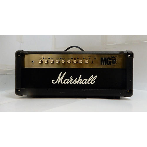 used marshall mg100hcfx 100w solid state guitar amp head guitar center. Black Bedroom Furniture Sets. Home Design Ideas