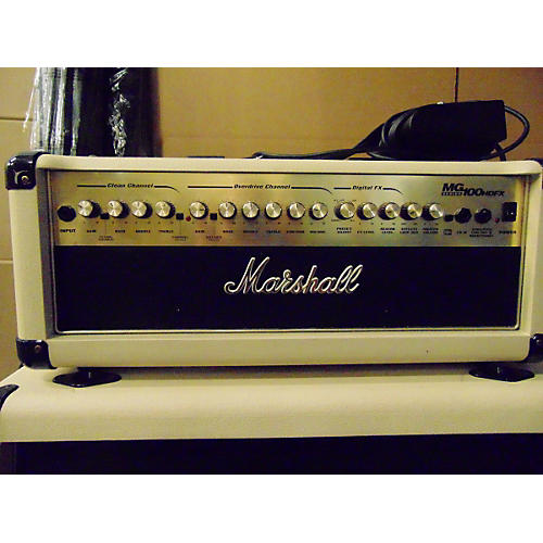 Marshall MG100HDFX 100W IVORY Guitar Amp Head