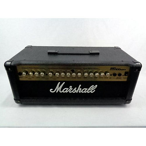 used marshall mg100hdfx 100w solid state guitar amp head guitar center. Black Bedroom Furniture Sets. Home Design Ideas