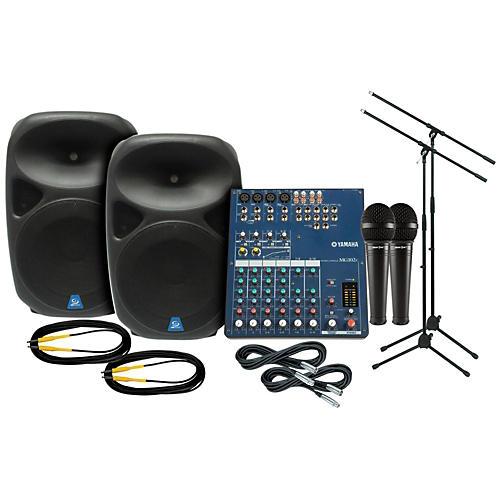Yamaha Mg102c Gem Sound Pxb150 Pa Package Guitar Center