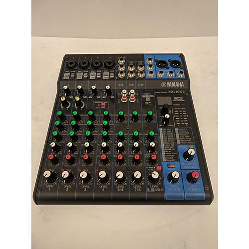 Used yamaha mg10xu powered mixer guitar center for Yamaha mg10xu review