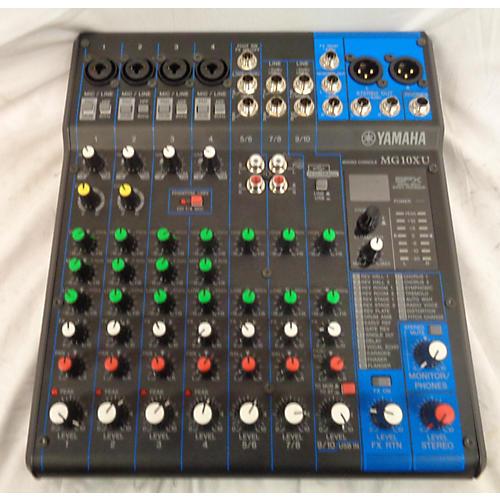 Used yamaha mg10xu unpowered mixer guitar center for Yamaha mg10xu review