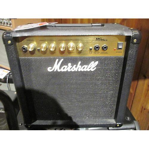 used marshall mg15cd guitar power amp guitar center. Black Bedroom Furniture Sets. Home Design Ideas