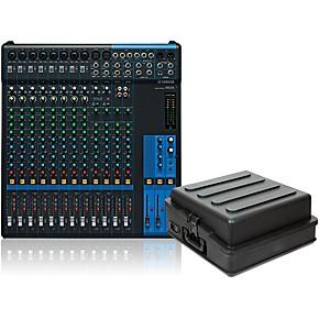 yamaha mg16 mixer with case guitar center. Black Bedroom Furniture Sets. Home Design Ideas