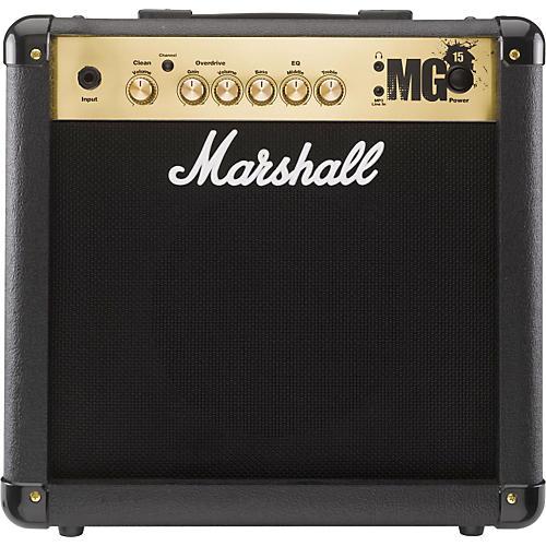 Marshall MG4 Series MG15 15W 1x8 Guitar Combo Amp (Black)