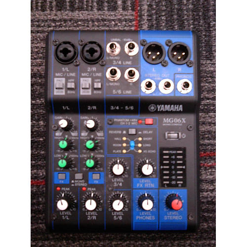 Yamaha MG60X Unpowered Mixer