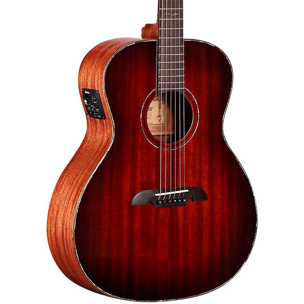 Alvarez MGA66E Masterworks Grand Auditorium Acoustic-Electric Guitar