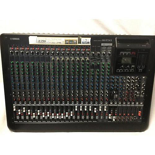Used yamaha mgp24x unpowered mixer guitar center for Yamaha mgp24x 24