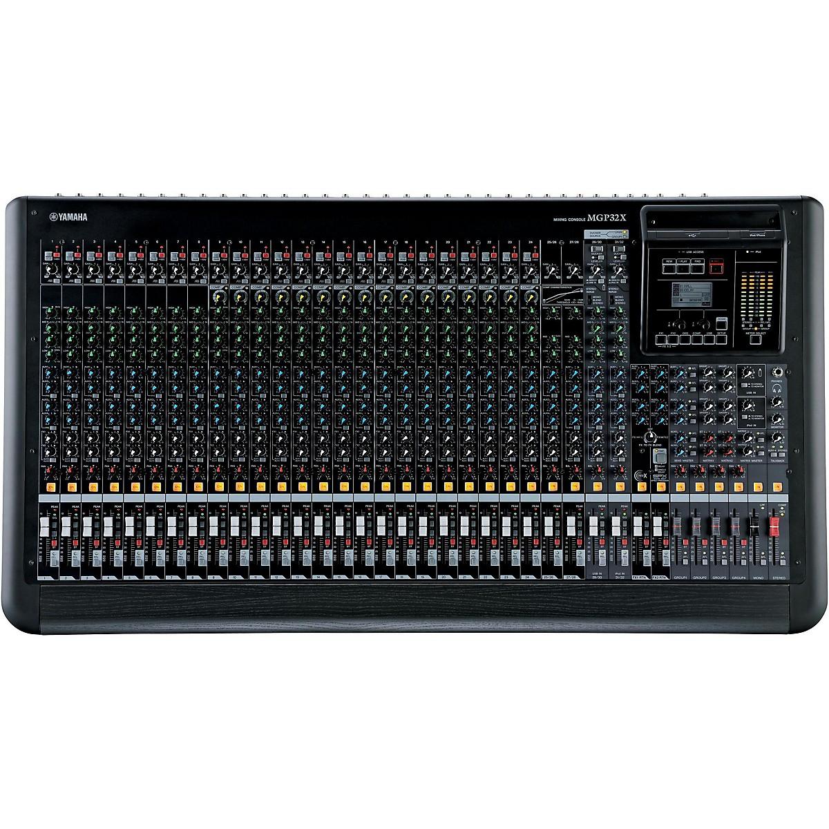 Yamaha MGP32X 32-Input Hybrid Digital/Analog Mixer with USB Rec/Play and Effects