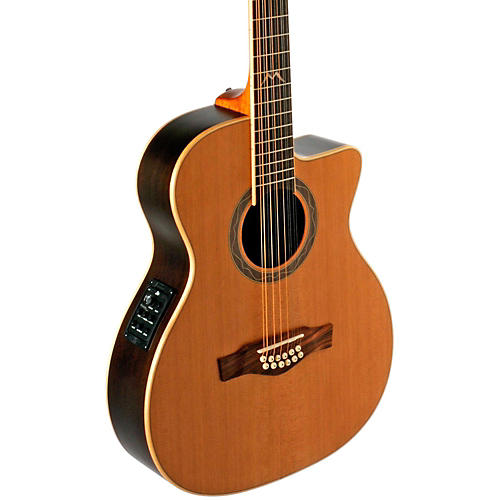EKO MIA Series 12-String Auditorium Acoustic-Electric Guitar