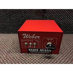used weber mini mass attenuator 25w power attenuator guitar center. Black Bedroom Furniture Sets. Home Design Ideas