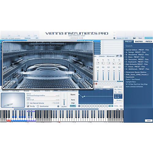Vienna Instruments MIRx The Sage Gateshead Software Download