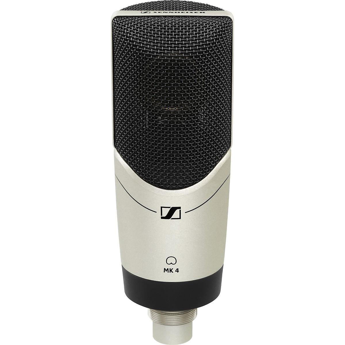 Sennheiser MK4 Large Diaphragm Studio Condenser Microphone