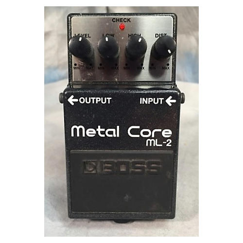 Boss ML2 Metal Core Distortion Effect Pedal