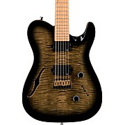 ML3 Pro Modern Semi-Hollow Electric Guitar Obsidian Burst