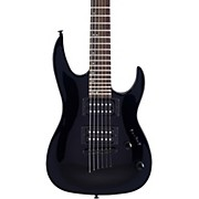 MM100 Mini Double Cutaway Electric Guitar Black