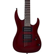 MM100 Mini Double Cutaway Electric Guitar Blood Red