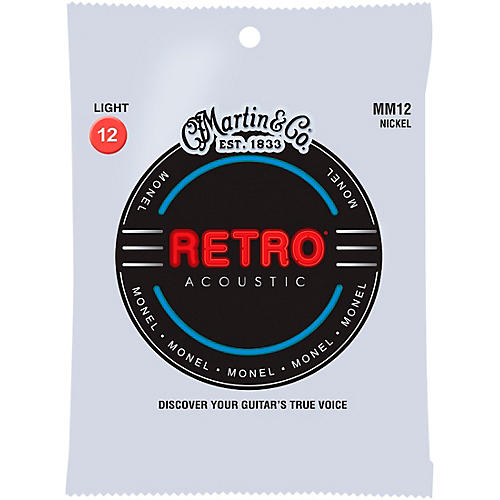 Martin MM12 Retro Light Acoustic Guitar Strings