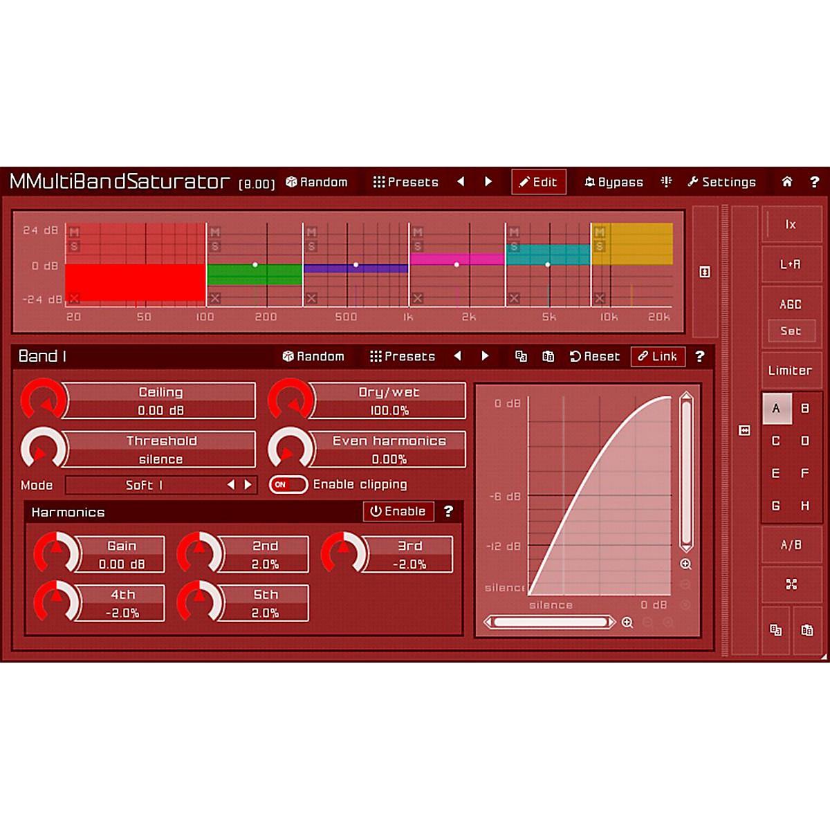 MeldaProduction MMultiBandSaturator