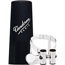 Vandoren M O Ligature and Plastic Cap for Alto Saxophone - Pink Gold