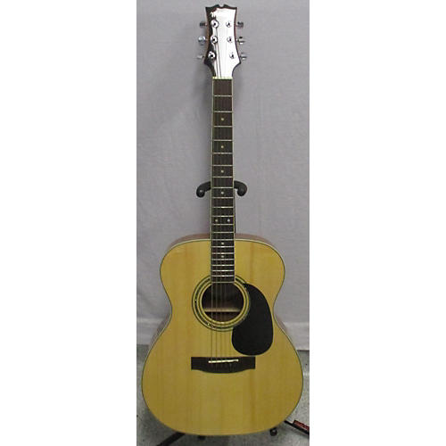 used mitchell mo100s acoustic guitar natural guitar center. Black Bedroom Furniture Sets. Home Design Ideas