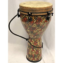 Remo MONDO DESIGNER SERIES KEY-TUNED MULTI-MASK 25IN X 14IN LEON MOBLEY EDITION Djembe