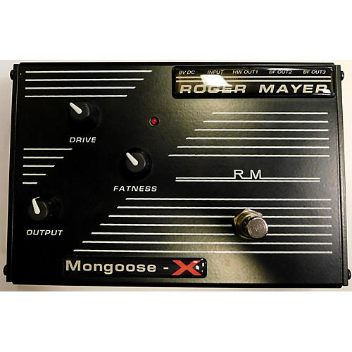 Roger Mayer MONGOOSE X Effect Pedal