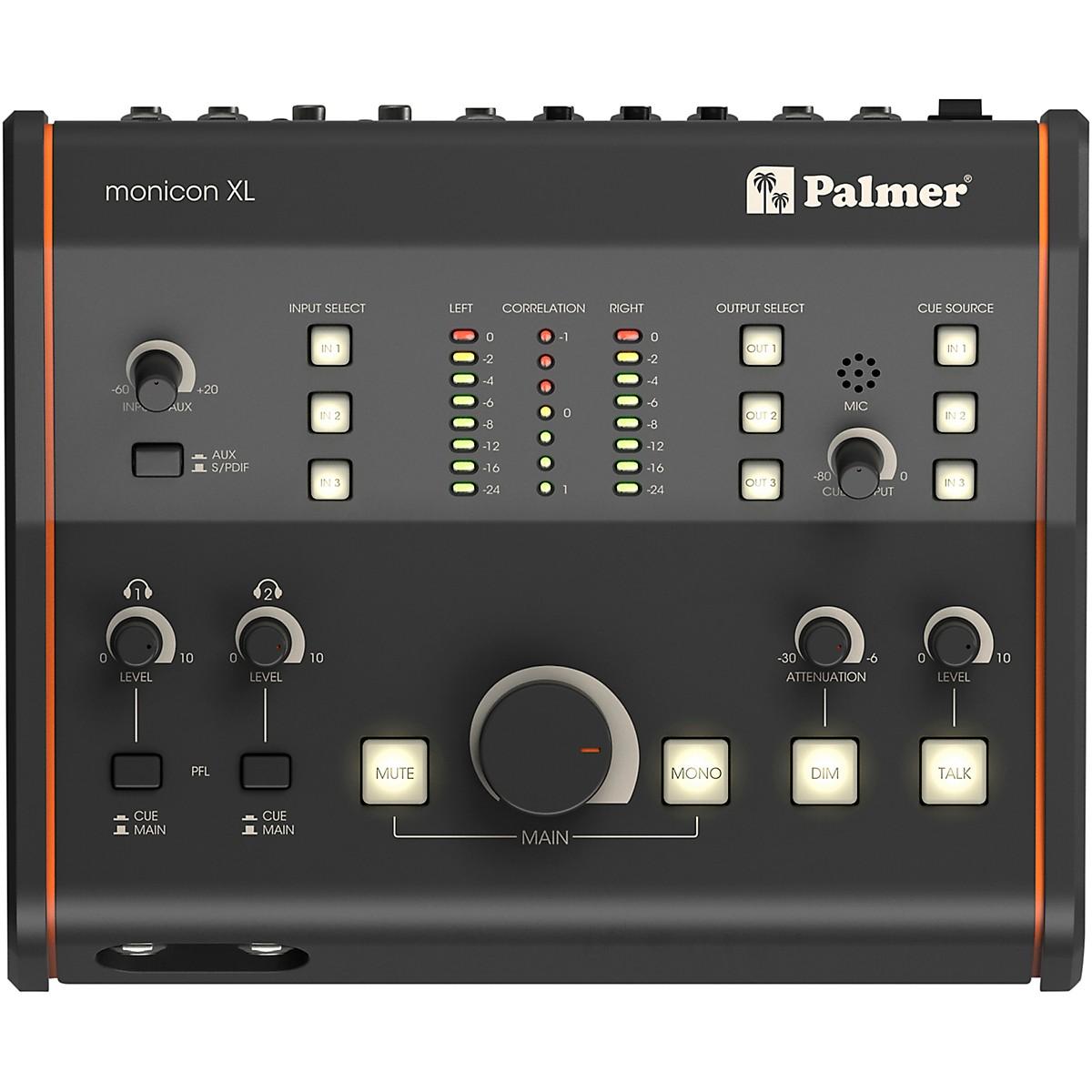 Palmer Audio MONICON XL Active Studio Monitor Controller