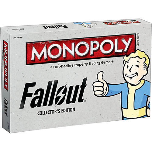 USAOPOLY MONOPOLY: Fallout Collector's Edition