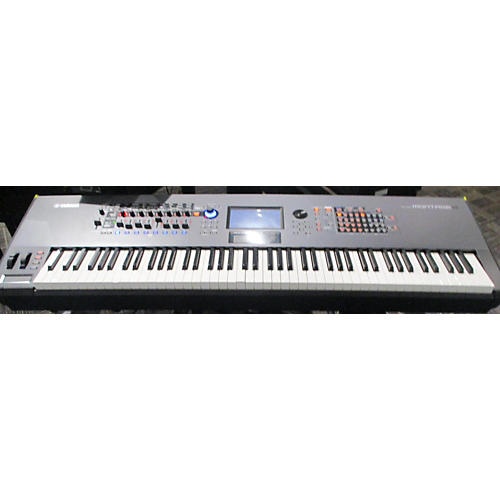 used yamaha montage 8 keyboard workstation guitar center. Black Bedroom Furniture Sets. Home Design Ideas
