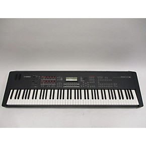 used yamaha mox8 88 key keyboard workstation guitar center. Black Bedroom Furniture Sets. Home Design Ideas