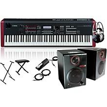 Yamaha MOXF8 Synthesizer Package