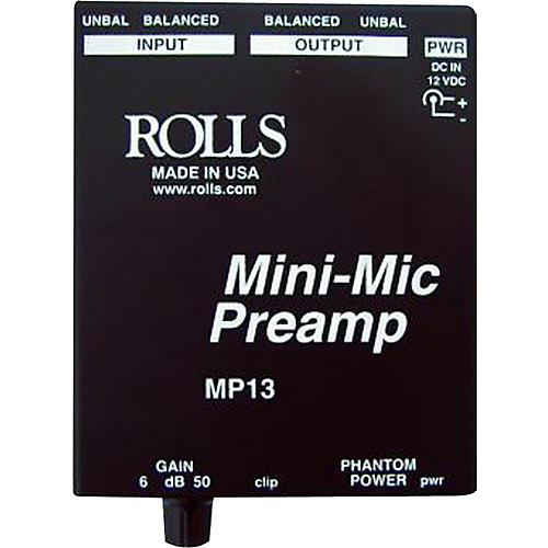 Rolls MP13 Mini-Mic Preamp