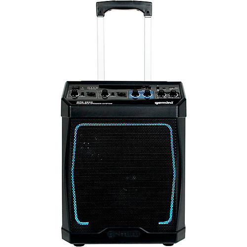 Gemini MPA-3600 Portable Rechargeable Bluetooth Speaker With Wired Microphone
