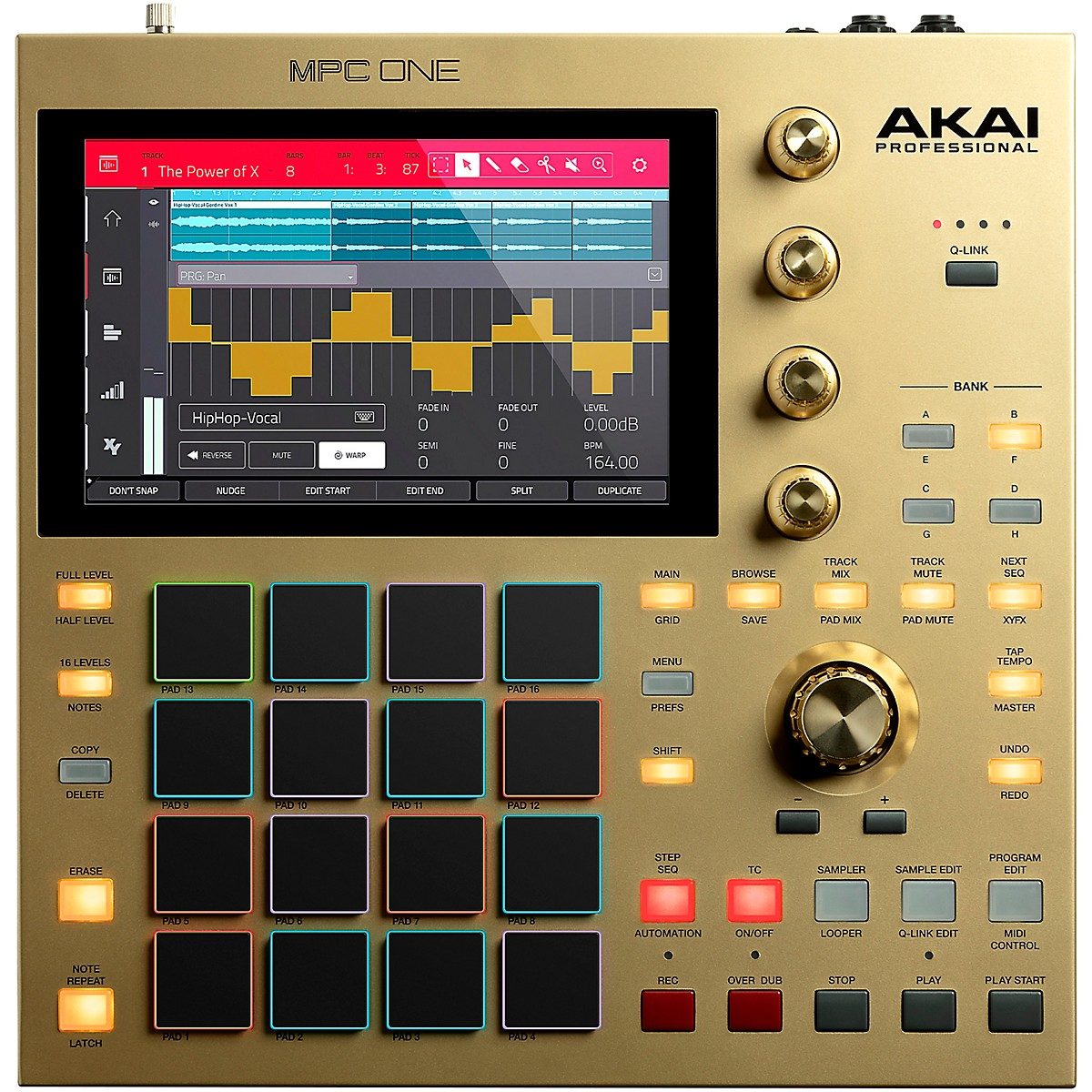 Akai Professional MPC One Gold Standalone Music Production Center