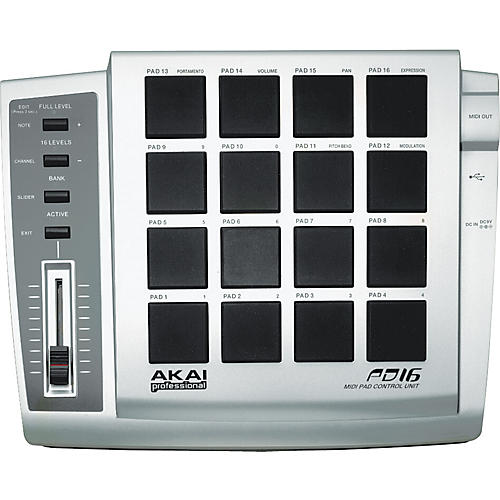 AKAI MPD16 MAC DRIVER