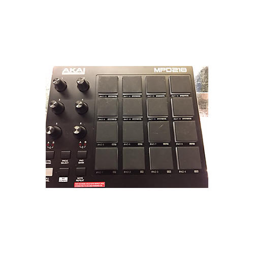 used akai professional mpd218 midi controller guitar center. Black Bedroom Furniture Sets. Home Design Ideas