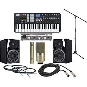 Akai Professional MPK 49 Recording Package