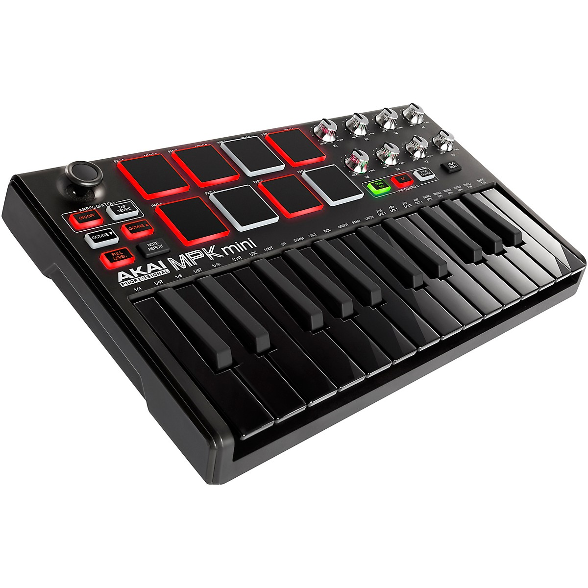 Akai Professional MPK Mini MKII Controller Limited Edition Black on Black